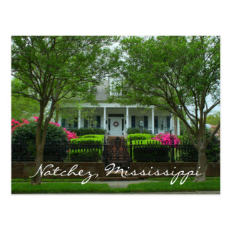 Myrtle Terrace in Historic Natchez, Mississippi Postcard
