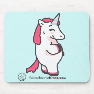 Myrtle the Unicorn Mouse Mat
