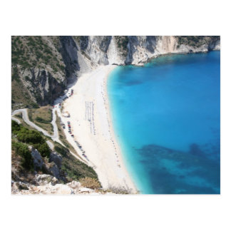 Myrtos Beach, Kefalonia Postcard