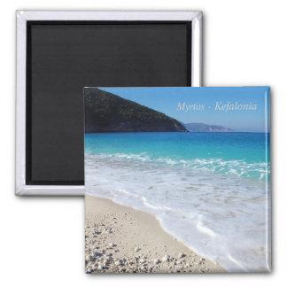 Myrtos – Kefalonia Square Magnet