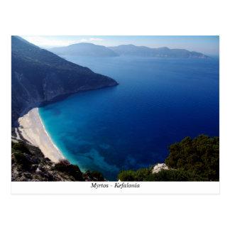 Myrtos – Kefalonia Postcard