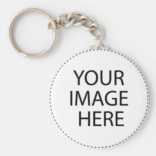 Myself Basic Round Button Key Ring