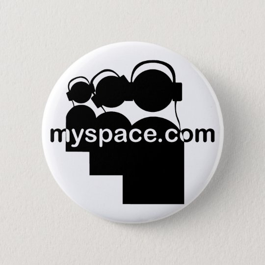 Myspacerecords 6 Cm Round Badge