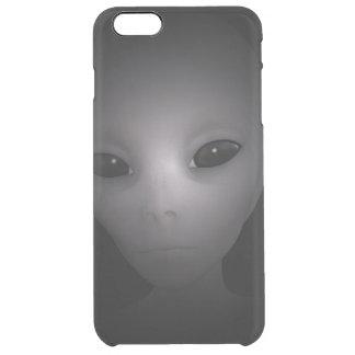 Mysterious black Alien Clear iPhone 6 Plus Case