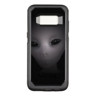 Mysterious black Alien OtterBox Commuter Samsung Galaxy S8 Case