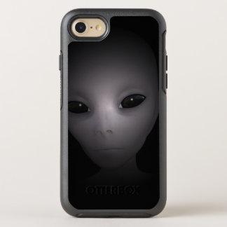Mysterious black Alien OtterBox Symmetry iPhone 8/7 Case