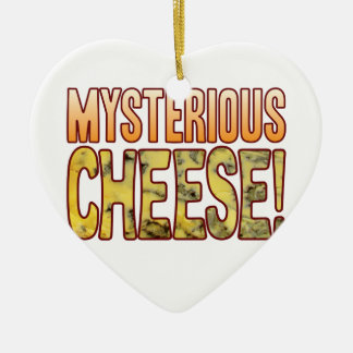 Mysterious Blue Cheese Christmas Ornament