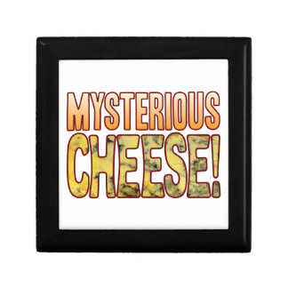 Mysterious Blue Cheese Small Square Gift Box