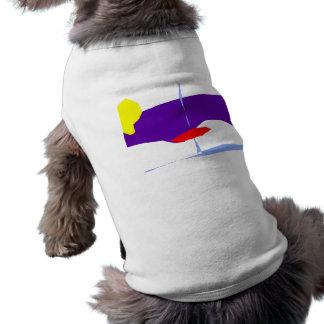 Mysterious Boat Submarine Radar Aircraft Sleeveless Dog Shirt