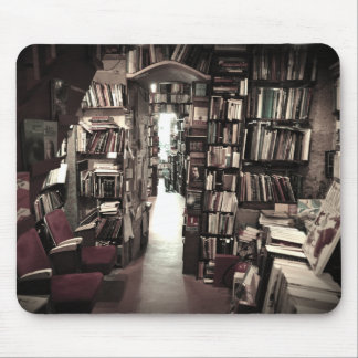 Mysterious Bookshop Mousepads