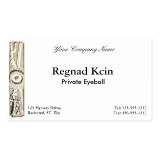 Mysterious Business Card 1