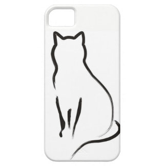 Mysterious Cat iPhone 5 Covers