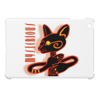 Mysterious Cat - mini ipad case