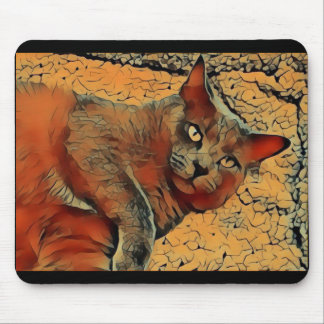 Mysterious Cat Mouse Mat
