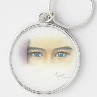 Mysterious Eyes Key Ring
