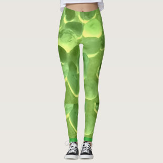 Mysterious Green Stone Leggings