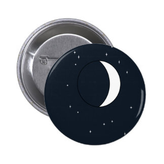 Mysterious Moon 6 Cm Round Badge