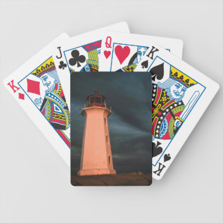 Mysterious Night at Peggy s Cove Nova Scotia Can Bicycle Playing Cards