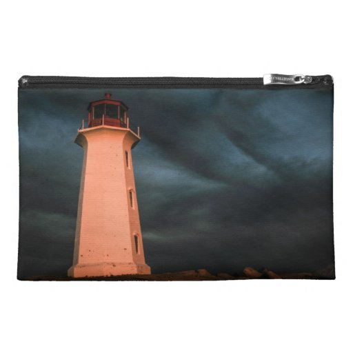 Mysterious Night at Peggy's Cove, Nova Scotia, Can Travel Accessories Bags