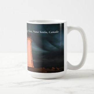 Mysterious Night at Peggy's Cove, Nova Scotia, Can Coffee Mug