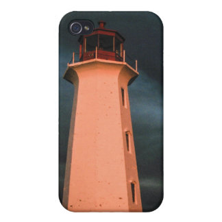 Mysterious Night at Peggy's Cove, Nova Scotia, Can iPhone 4 Cases