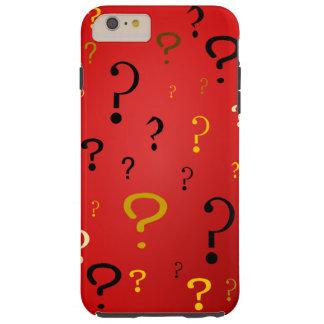 Mysterious Question Marks Tough iPhone 6 Plus Case
