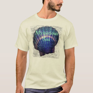 Mysterious Sea T-Shirt with a seashell