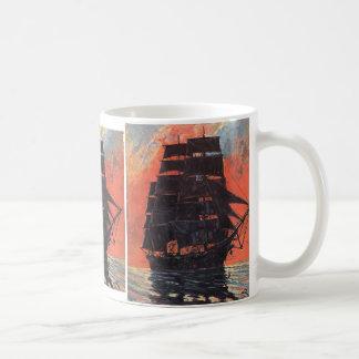 Mysterious Ship Mug