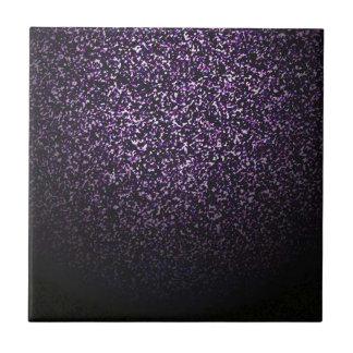 Mysterious sprinkle of violet tile