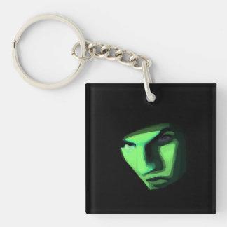Mysterious ways key ring