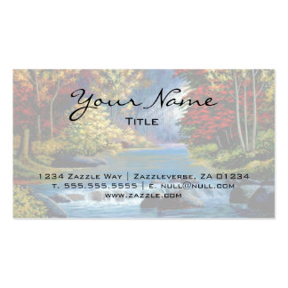 Mysterious Woods Pack Of Standard Business Cards