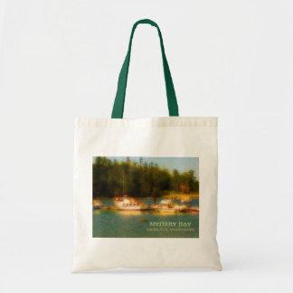 Mystery Bay, Marrowstone Island, Washington Budget Tote Bag