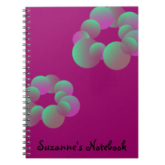 Mystery Bubbles Notebook