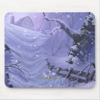 Mystery Case Files: Dire Grove Snowy Path Mouse Mat