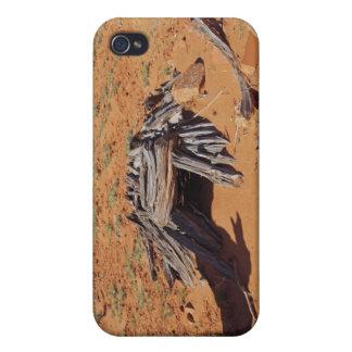 Mystery desert cave in utah iPhone 4 covers
