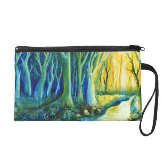 Mystery Forest Wristlet Purses