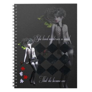 Mystery Girl Notebooks