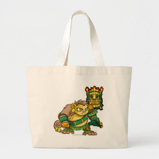 Mystery Island Team Captain 1 Large Tote Bag