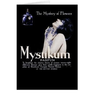 Mystery of Flowers - Mystikum Perfume Card