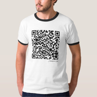 Mystery QR Code Funny Tee by JaneZoe Design!