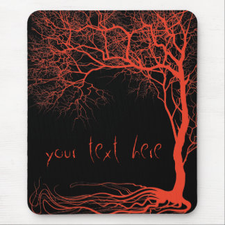 Mystery tree mouse pad