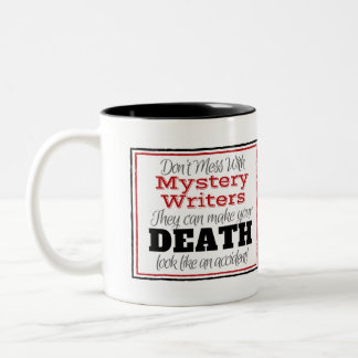 Mystery Writer Warning Mug