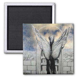 Mystic Angel CricketDiane Art and Design Refrigerator Magnet