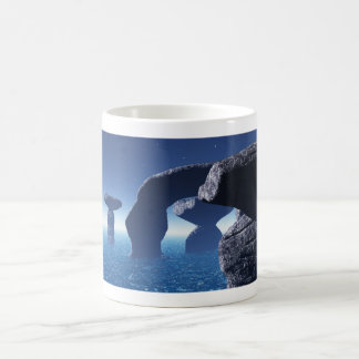 mystic arch basic white mug