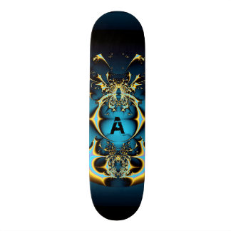 Mystic Ball Monogram Custom Skate Board