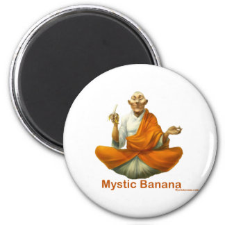 Mystic Banana 6 Cm Round Magnet
