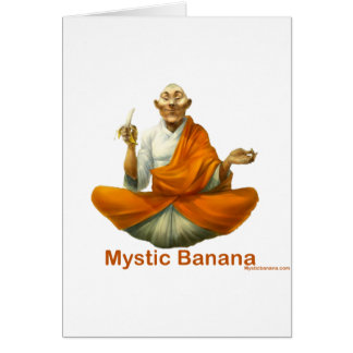 Mystic Banana Card