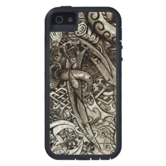 Mystic Blades Intricate Detailed Hand Drawing Case For The iPhone 5