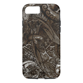 Mystic Blades Intricate Detailed Hand Drawing iPhone 7 Case