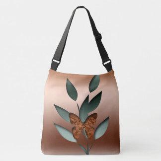 Mystic butterfly crossbody bag